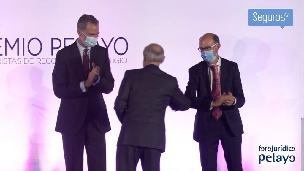 El Rey entrega el XXVI Premio Pelayo