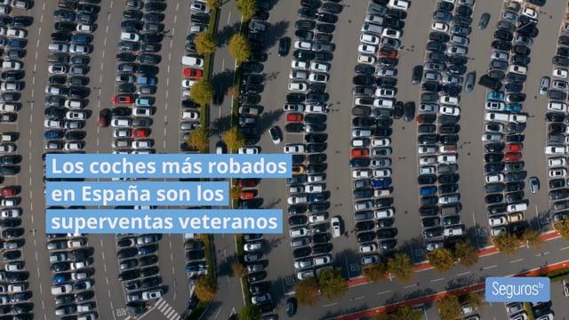 El 44% del parque móvil español no está asegurado contra robos