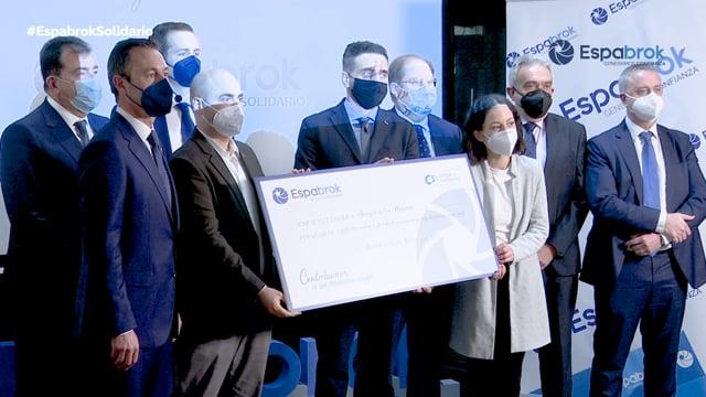 Así fue la entrega del IX Premio Solidario Espabrok