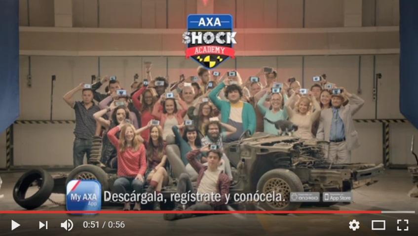 AXA México tiene una impactante forma de alertar sobre los riesgos al volante