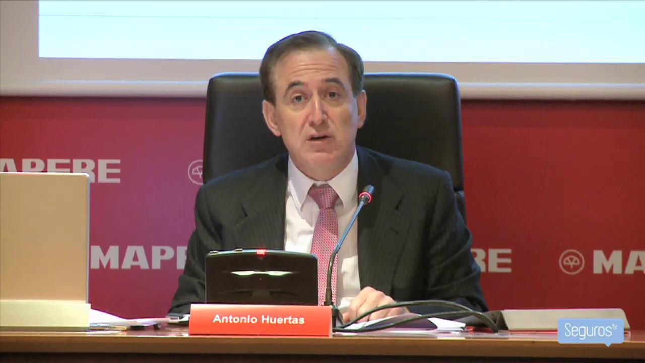 Mapfre gana un 31% menos en 2012 tras provisionar su inversión en Bankia