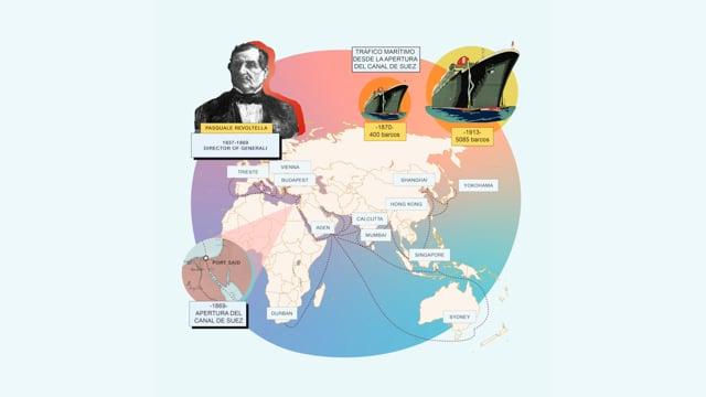 Generali y su papel en la construcción del Canal de Suez