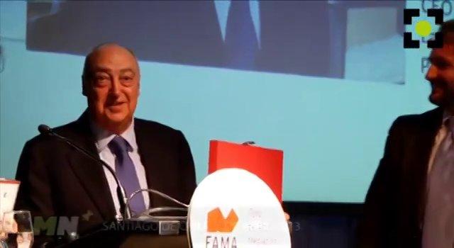 FAMA Internacional rinde homenaje a Vicente Tardío en Chile