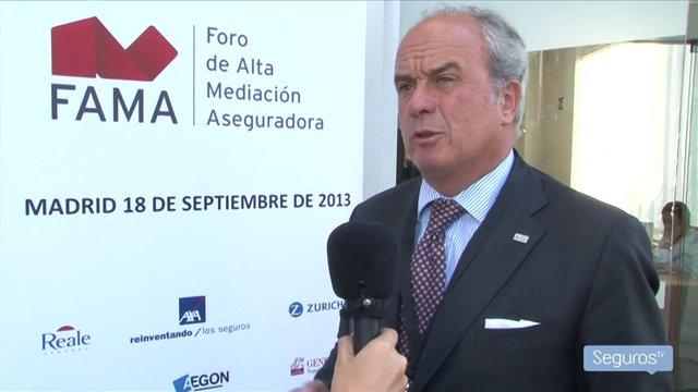 Entrevista a Álvaro Mengotti, director general Ibérico de AIG