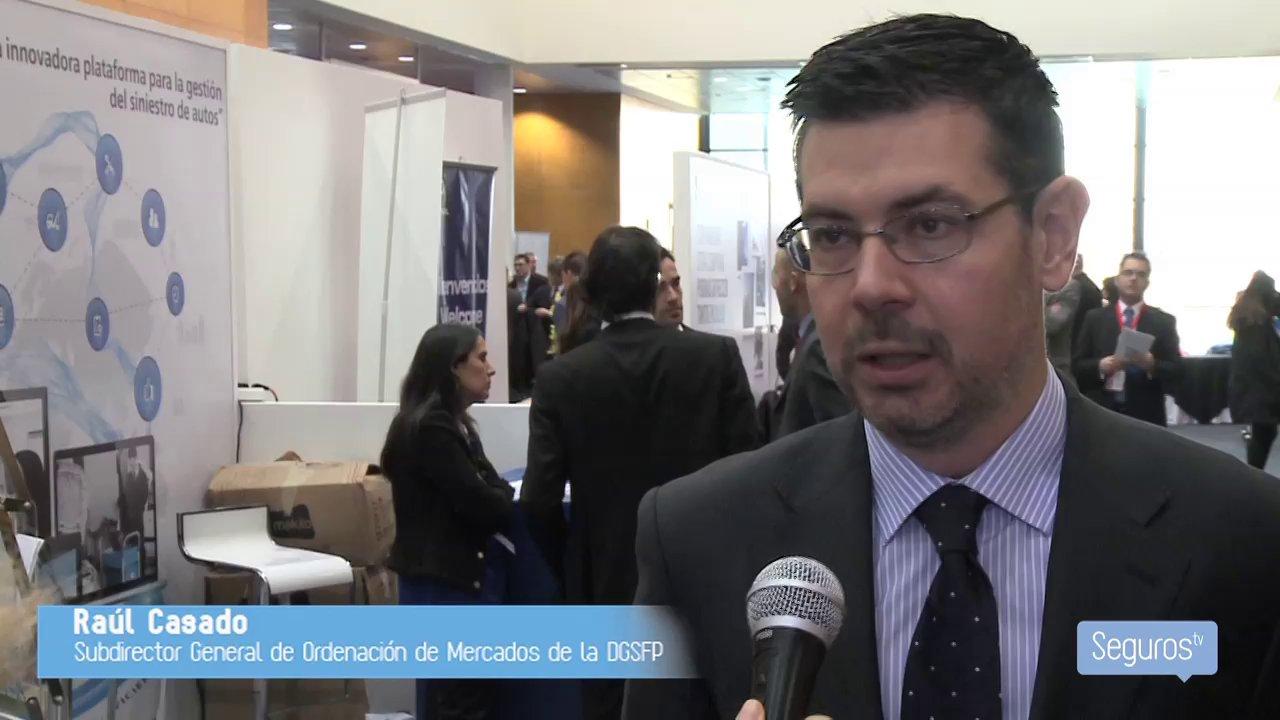 Entrevista a Raúl Casado, subdirector general de Ordenación del Mercado de la DGSFP