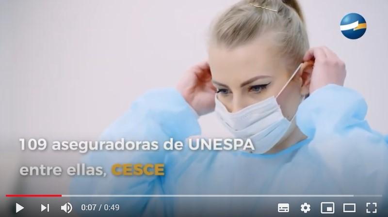 CESCE agradece su esfuerzo a los sanitarios