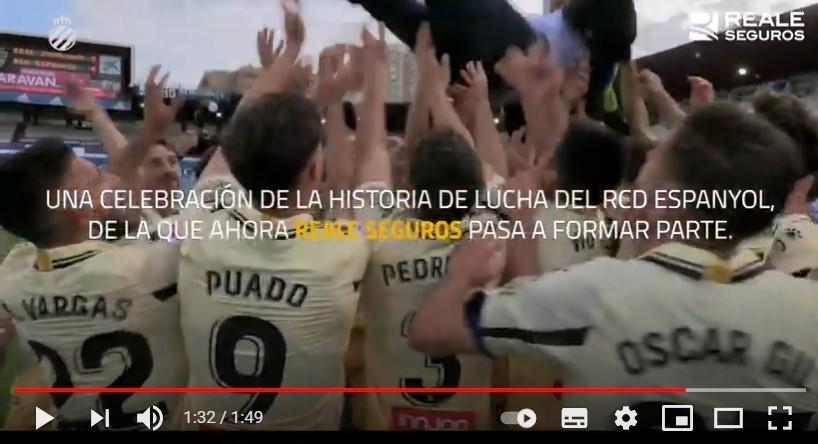 Reale Seguros apoya al RCD Espanyol en su vuelta a Primera