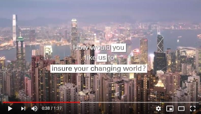 ¿Cómo te gustaría que Swiss Re asegurara un mundo en constante cambio?