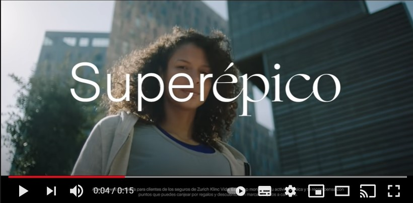 """Zurich estrena imagen con nueva campaña """"épica"""""""