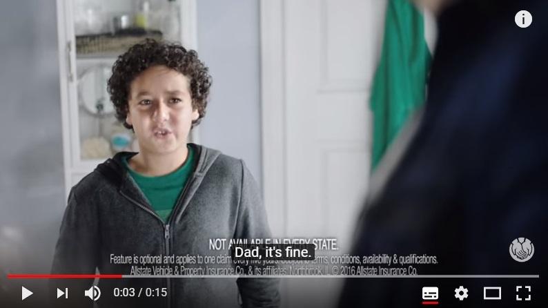 """""""No se lo cuentes a mamá"""", el spot de la campaña de hogar de Allstate"""