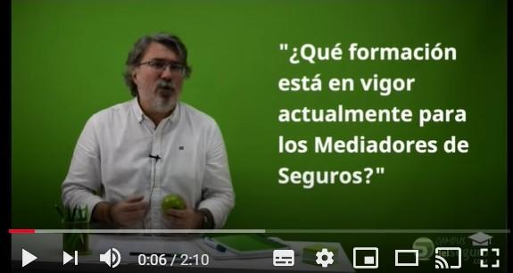 Campus del Seguro explica los requisitos de formación para los mediadores de seguros