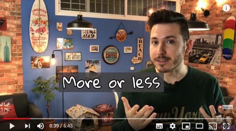 """Aprende inglés con Seguros Tv: 8 formas de decir """"más o menos"""""""