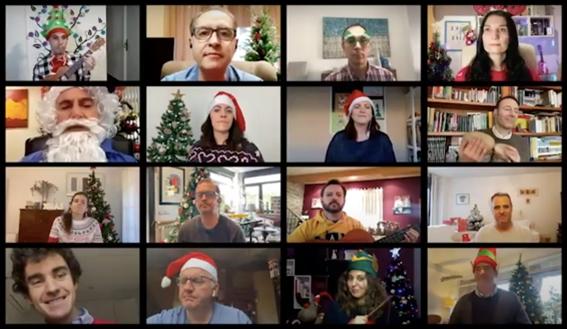 Aegon felicita de forma diferente esta Navidad