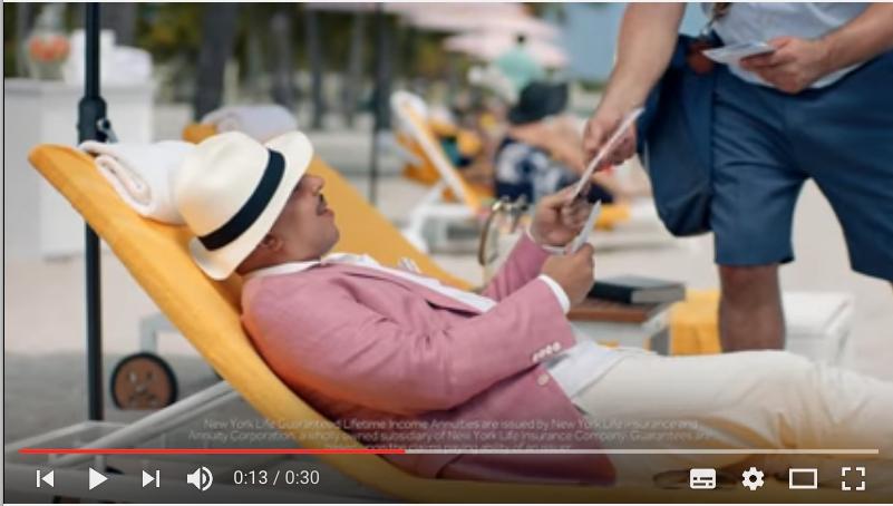 Lou Bega canta las ventajas de los seguros de rentas de New York Life